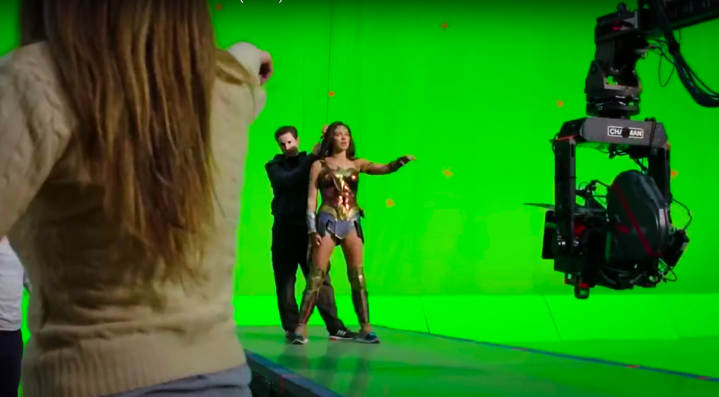 MG Action, Martin Goeres, Wonder Woman, Gale Gadot, Stunt Rigging, Deutschland